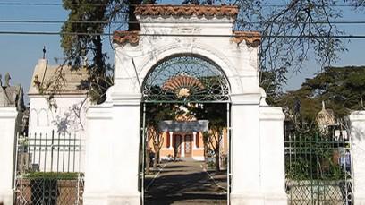 Entrada Cemitério Quarta Parada