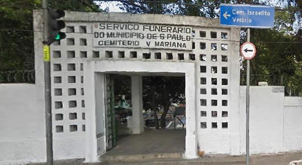 Entrada Cemitério Vila Mariana