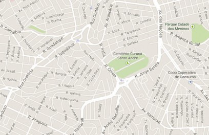 Mapa Cemitério Curuça