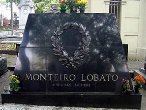 Monteiro Lobato Cemitério da Consolação