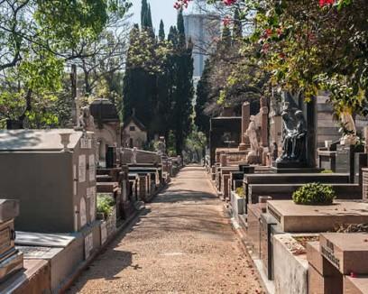Alamedas do Cemitério da Consolação