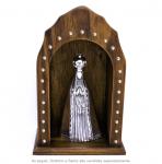 oratorio madeira com cristal